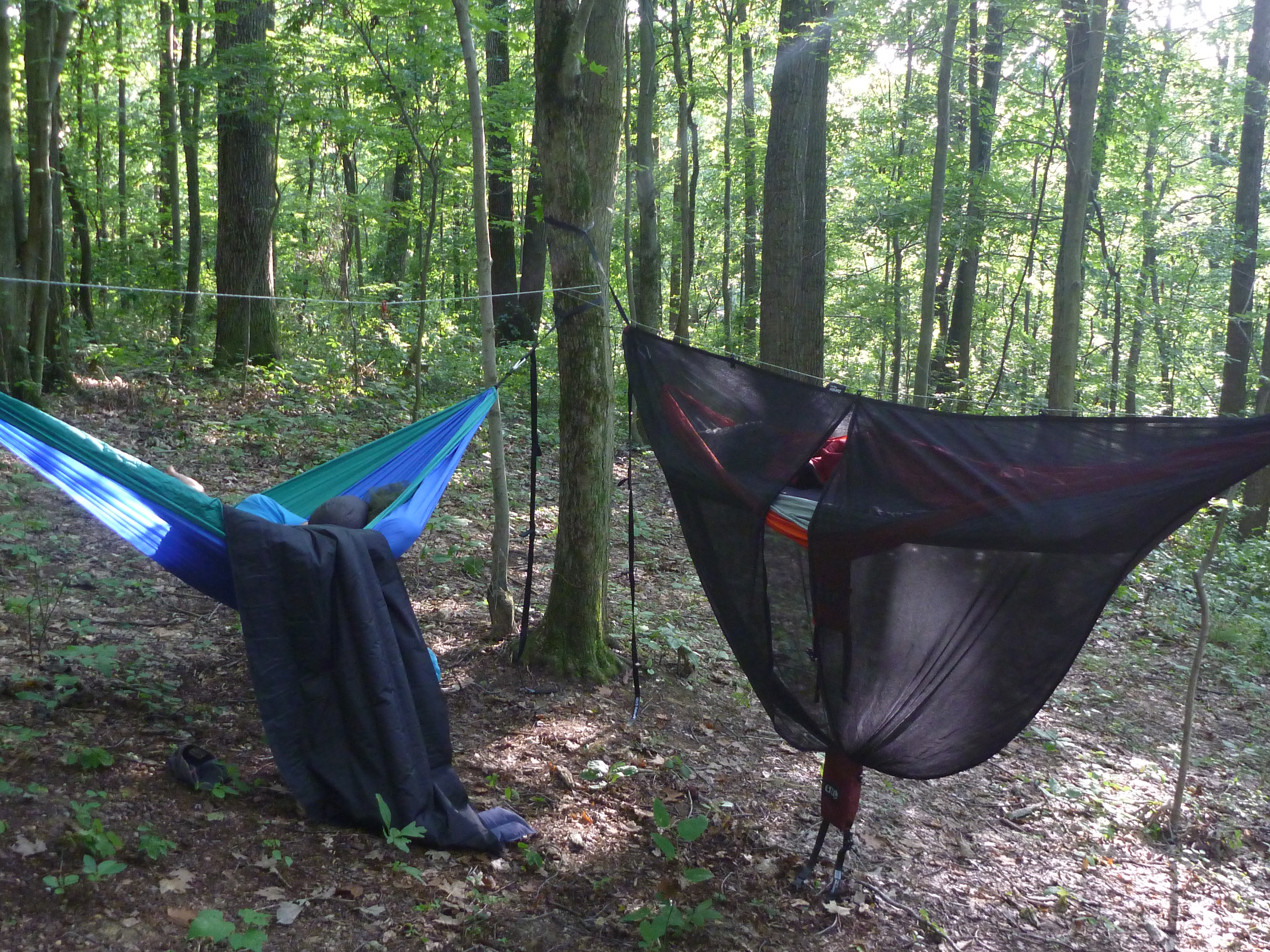 Medium image of th is is a push  the eno singlenest hammock